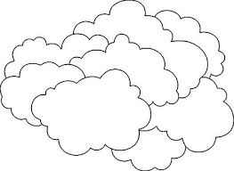 Small Picture Cloud Outline Coloring PageOutlinePrintable Coloring Pages Free