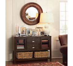 decorate narrow entryway hallway entrance. Decorate Your Home Using Small Entryway Table Ideas: Exciting Round Wall Mirror And Lamp Narrow Hallway Entrance