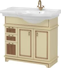 Мебель для ванной <b>Aquanet Луис 90</b> бежевая R купить в ...