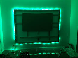 diy floating wall unit with led lighting for tv media room you entertainment center plans stand best shelf false ideas how to build door make