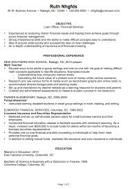 Loan Officer Resume Grand Sample Scholarschair