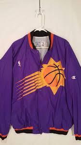 Bape runs approximately one size small compared to traditional us sizing. Rare Vintage 90s Phoenix Suns Champion Nba Warm Up Jacket Mens Xl Barkley Jordan 1889932486