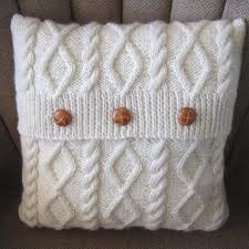How To Knit A Pillow Cover