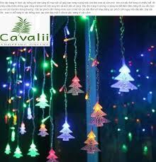 Dây đèn led nhiều màu 5m cây thông (nhỏ) Dây đèn led cây thông nhiều màu  sắc siêu xinh siêu đẹp Day den led Day den led cay thong: Mua bán trực
