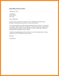Jury Duty Excuse Letter Soap Format Jury Duty Excuse Letter