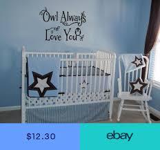 owl always love you baby vinyl wall