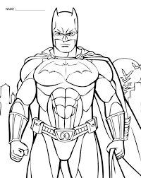 Free Printable Coloring Pictures Of Batman The Printable Lab I M