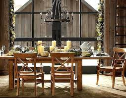 barn dining table pottery barn dining room table rectangle black wood table white kitchen furniture set