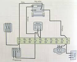 wiring diagram heating only two port motorised valve heating