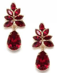anything you associate with red is ruby gem it is a deep red gemstone ruby red earrings are made of ruby gemstone these ruby red stone earrings are very