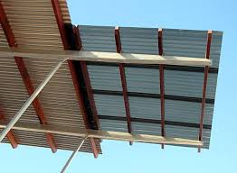 pictures of clear corrugated plastic roof panel