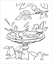 Printable Spring Coloring Pages Free Printable Spring Coloring
