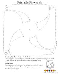 Free Craft Printables Templates Color Your Own Pinwheel Pinwheel Craft Pinwheels Diy