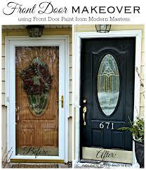 black front doorNew Front Door Paint  Door makeover Front doors and Doors