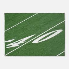 8 x 10 kids sports football field area rug actual size 6 7 large football field