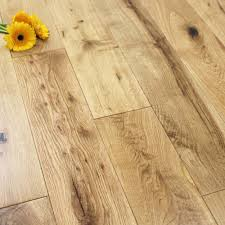 Rustic Wood Flooring 125mm Lacquered Engineered Rustic Oak Wood Flooring 22ma2