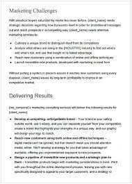 Marketing Proposal Sample Pdf Cycling Studio