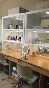 lindy abby s fabulous university of mississippi dorm room desks and shelves with mirrors