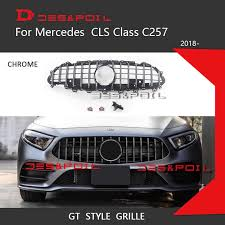 We analyze millions of used cars daily. New Cls C257 Gt Grill For Mercedes Cls Class C257 Facelift Auto Front Grille 2019 Cls300 Cls350 Cls450 Cls500 Cls53 Amg 4matic Racing Grills Aliexpress