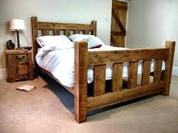 rustic bed plans. Wonderful Plans Extraordinary Rustic Wood Bed Frame Plans Design Ideas For  Make To Rustic Bed Plans