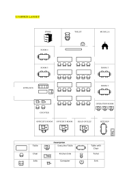 office layout pictures. 5.5 OFFICE LAYOUT Description Table Executive With Chair Kitchen Sink Toilet Sofa Computer Office Layout Pictures