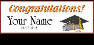 Graduation Banners Ohio High Schools More