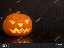 Powerpoint Template Halloween Pumpkin With Fire Candle Beyycacab