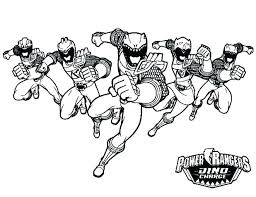 Power Rangers Coloring Pages Printable Ohioairinfo