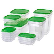 Купить ПРУТА <b>Набор контейнеров</b>, 17 шт., прозрачный, зеленый ...