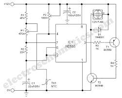 smart cooling fan circuit cooling fan circuit schematic