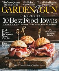 garden gun. Garden \u0026 Gun - October-November 2017