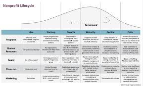 Organizational Life Cycle Chart How To Diagnose Nonprofit Growing Pains Social
