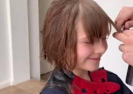 قصات شعر اطفال بنات فكتوريا المرسال