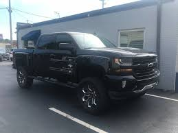 Black Chevrolet Silverado SUV Lifted Used Cars - OurFairDeal