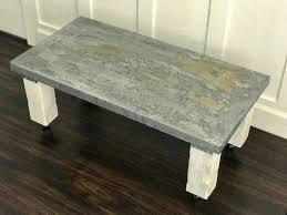 metal top coffee table. Metal Top Coffee Table