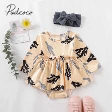 <b>2019</b> Baby <b>Summer</b> Clothing Infant Kid <b>Baby Girl</b> Polka Dot Pumpkin ...