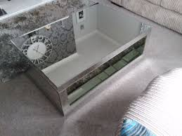 next mirrored coffee table for
