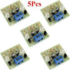 5pcs Simple <b>LED Flash DIY</b> Kits Circuit Electronics <b>DIY</b> Electronic ...