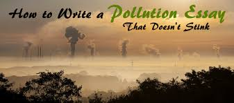 how to write a pollution essay that doesn t stink essay writing