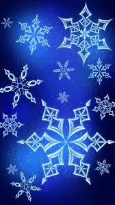 snowflake wallpaper iphone. Plain Wallpaper Blue Snowflake Wallpaper And Iphone