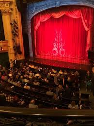 Hudson Theatre Seating Chart Hudson Theatre Section Dress Circle R Row A