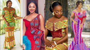 Ghanaian Ankara Designs 2019 Ghana Wedding Dresses Kente Ankara Trendy Styles African Fashion