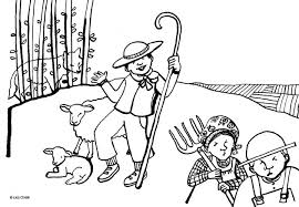 Small Picture Best The Boy Who Cried Wolf Coloring Pages 20 For Coloring Pages