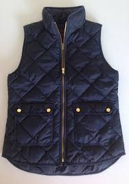 Crew Excursion Quilted Down Vest NWT Color: Navy Size: XS, S, M, L & J. Crew Excursion Quilted Down Vest NWT Color: Navy Size: XS, S, M, L Adamdwight.com