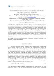 pdf numerical solution of convection diffusion equation using cubic b spline quasi interpolation