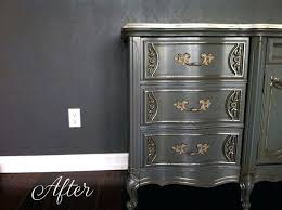 Diy metallic furniture Gray Wood Stain Metallic Dresser Champagne Paint By Modern Masters Helps Detail Bedroom Furniture Set Makeover Love Paper Diy Petticoat Junktion Metallic Dresser Champagne Paint By Modern Masters Helps Detail