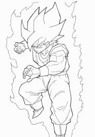 Small Picture Dragon Ball Z Christmas Coloring Pages Coloring Coloring Pages