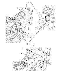 2010 jeep grand cherokee ground straps powertrain diagram i2233257