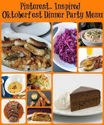 Oktoberfest Dinner Party - Pinterest Inspired