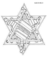 Small Picture 8 of the best most artful Hanukkah coloring pages